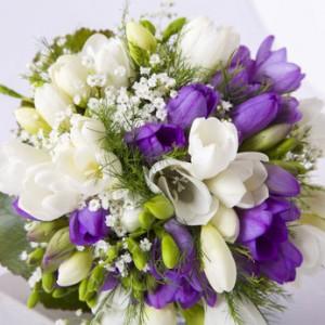 Blumenstrauss-verschenken