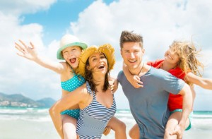 Familie-im-Urlaub
